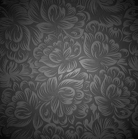 Royal floral wallpaper