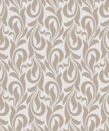 vector wallpaper: Seamless golden vector wallpaper Illustration