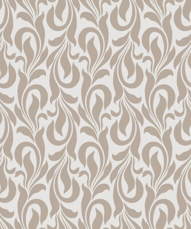 Seamless golden vector wallpaper Illustration
