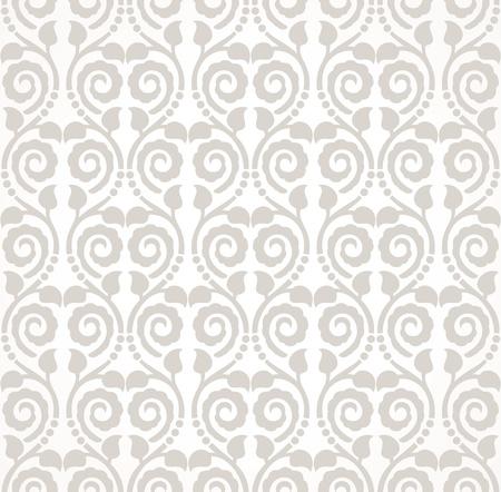 Traditional seamless wallpaper design Stock Vector - 19724151