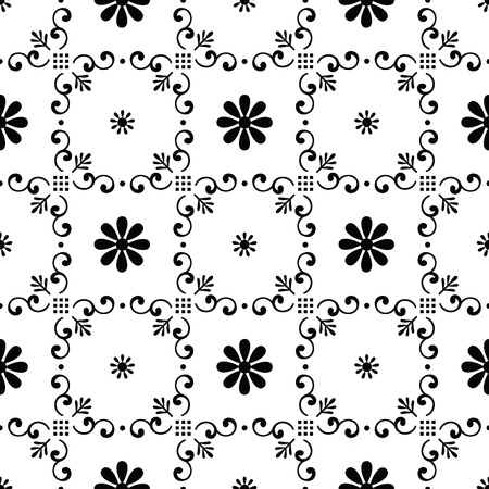 Seamless vector wallpaper Stock Vector - 19724164
