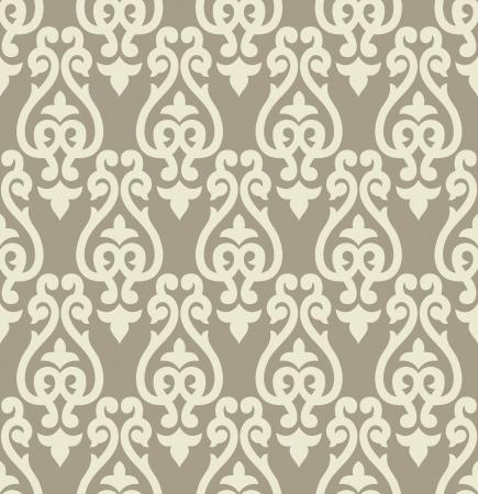 vector wallpaper: Seamless traditional vector wallpaper Illustration