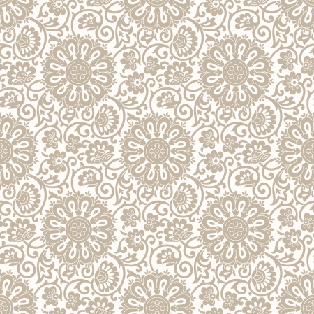 Seamless flower wallpaper Stock Vector - 19724165