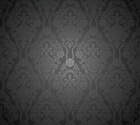 Seamless royal vector wallpaper Stock Vector - 19882733