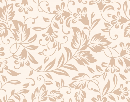 Floral seamless background Stock Vector - 19882735