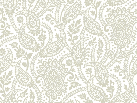 paisley background: Seamless paisley background Illustration