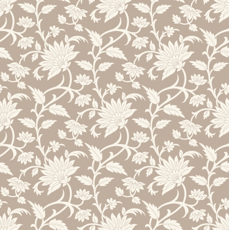 Seamless floral background Stock Vector - 20067835