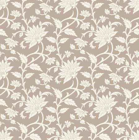 floral: Seamless floral background Illustration