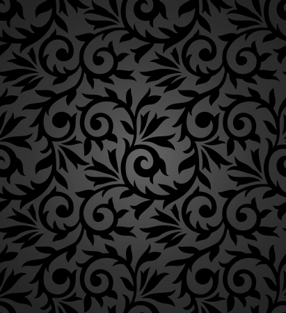 Seamless fancy floral background Stock Vector - 20074704