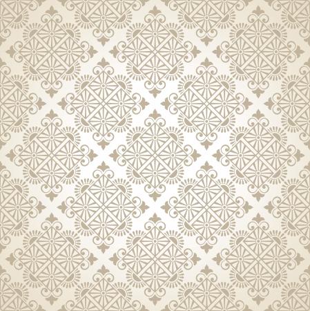 Seamless vector traditional wallpaper Stock Vector - 20074690