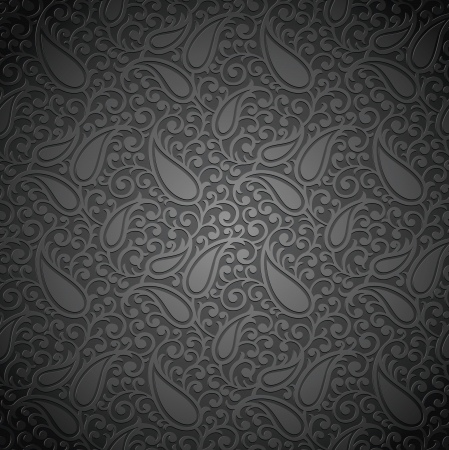 Seamless royal paisley wallpaper Vector