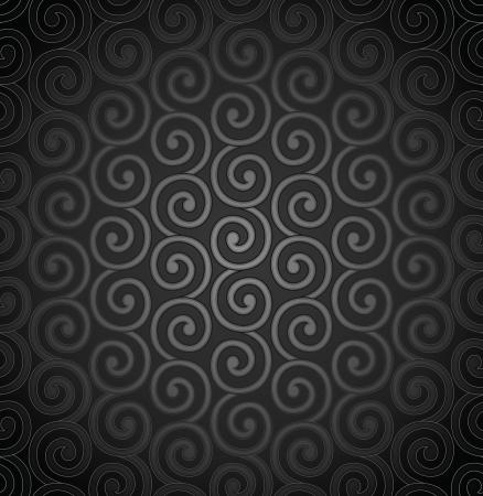 swirly design: Seamless swirly wallpaper design