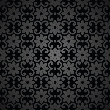 Seamless royal vector flower background Stock Vector - 20067445