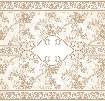 Floral note book cover and seamless background included