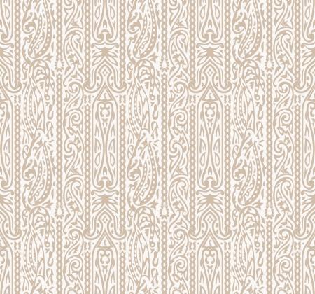 Seamless traditional wallpaper Vector