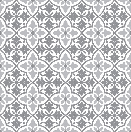 Seamless vector floral pattern Stock Vector - 20634534