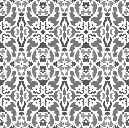 Seamless antique wallpaper Vector