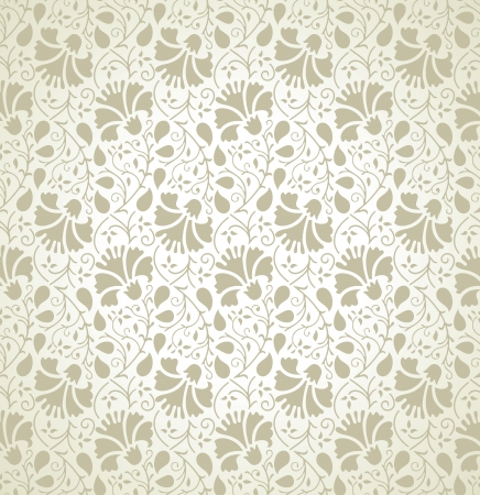 Seamless floral wallpaper Stock Vector - 20874300
