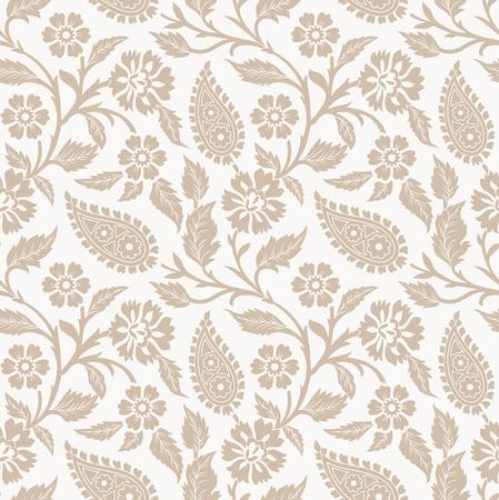 papel tapiz: Papel tapiz de vector de la flor y el fondo