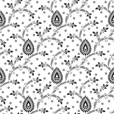 vector wallpaper: Seamless fancy vector wallpaper