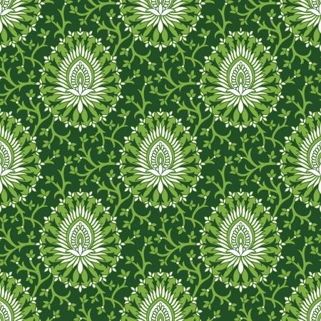 mustered: Royal seamless vector wallpaper Illustration