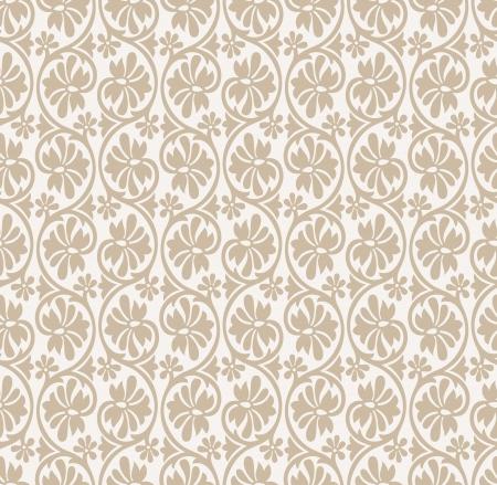 Seamless wedding card background Vector