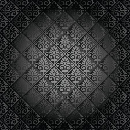 Luxurious seamless wallpaper Stock Vector - 21269125