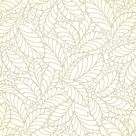 Seamless golden leaves wallpaper