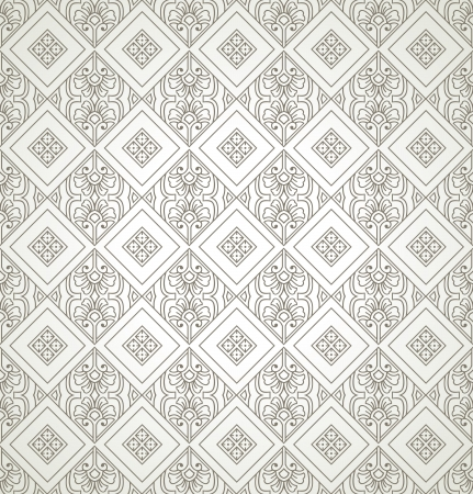 Seamless antique look wallpaper