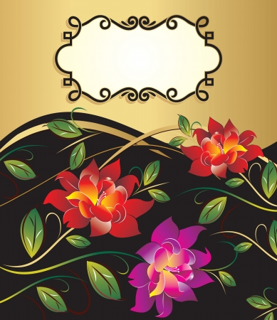 Vector floral banner Stock Vector - 22012212