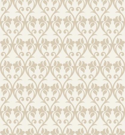 mustered: Seamless fancy flower wallpaper