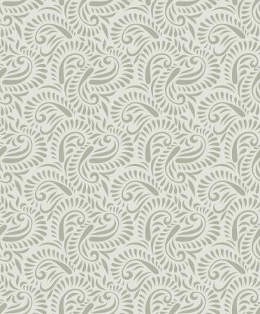 Seamless vector paisley pattern Vector