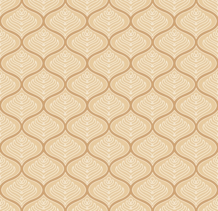 mustered: Seamless fancy vector wallpaper