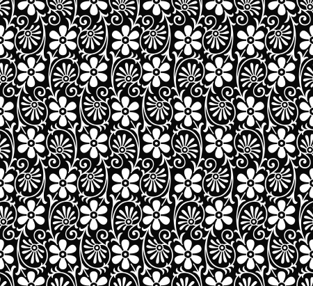 Vector floral pattern Vector