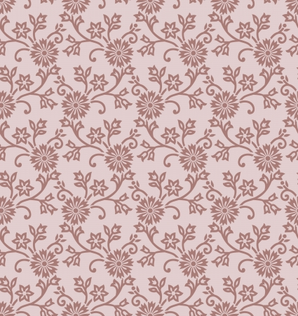 mustered: Floral vector pattern