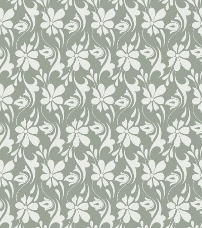 mustered: Fancy floral background