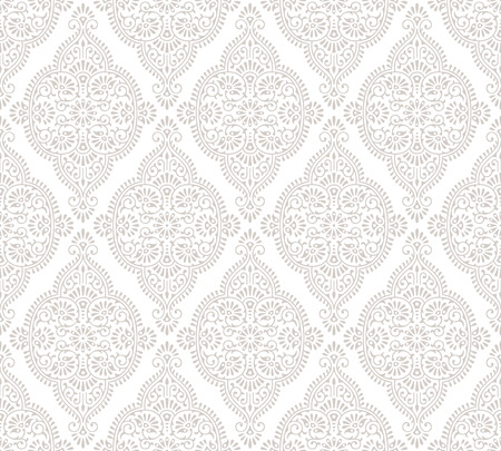 mustered: Traditional vector seamless pattern Illustration