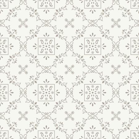 mustered: Vector royal seamless wallpaper Illustration