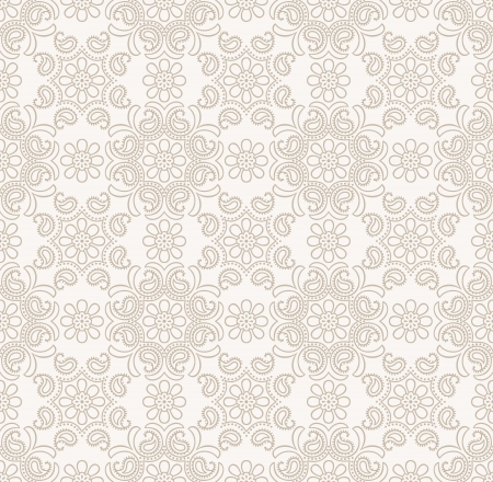 mustered: Traditional Seamless pattern Illustration