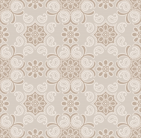 Seamless traditional golden wallpaper