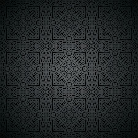 papier peint noir: Royale papier noir