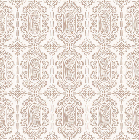Paisley seamless background Illustration
