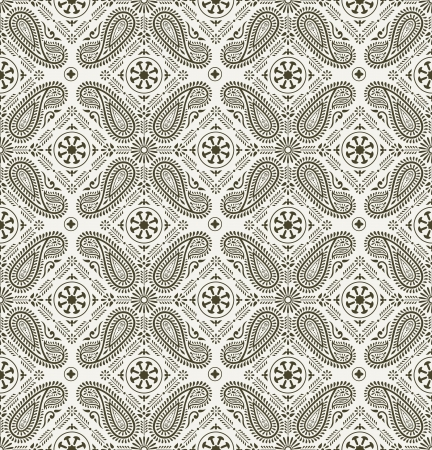 mustered: Paisley background