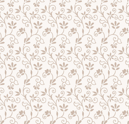 Seamless floral wedding card background