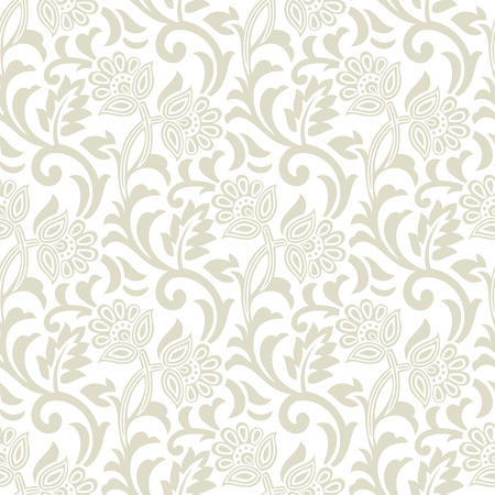 mustered: Floral seamless design