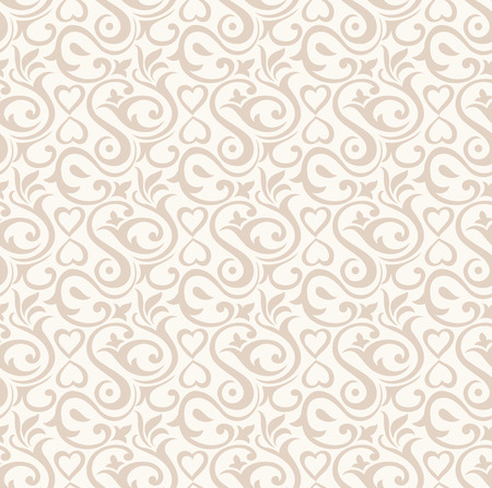 Damask floral wallpaper Stock Vector - 26057058