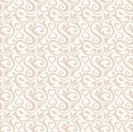 Damask floral wallpaper Stock Vector - 26057058