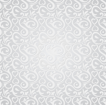 mustered: Silver seamless wallpaper