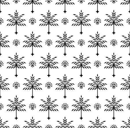 mustered: Seamless fancy pattern