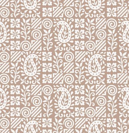 luxurious seamless wallpaper: Paisley seamless fancy